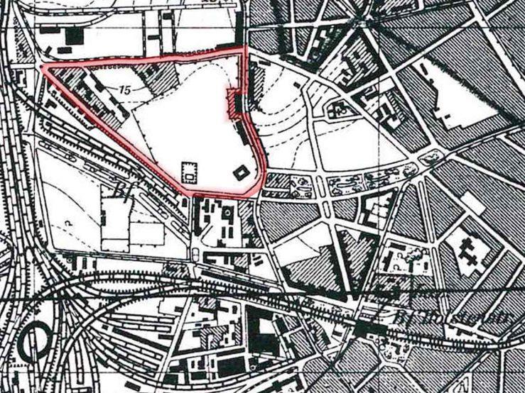 Kartenausschnitt 1927