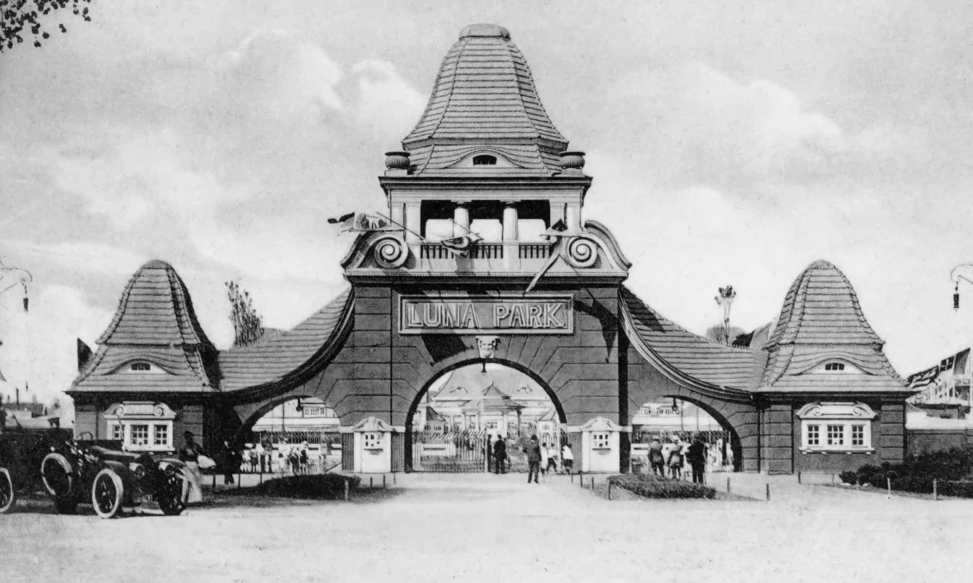 Luna Park Eingangstor