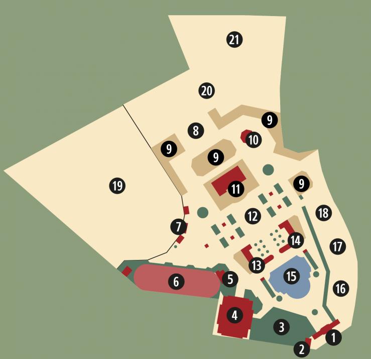 Lunapark Altona Plan 1913