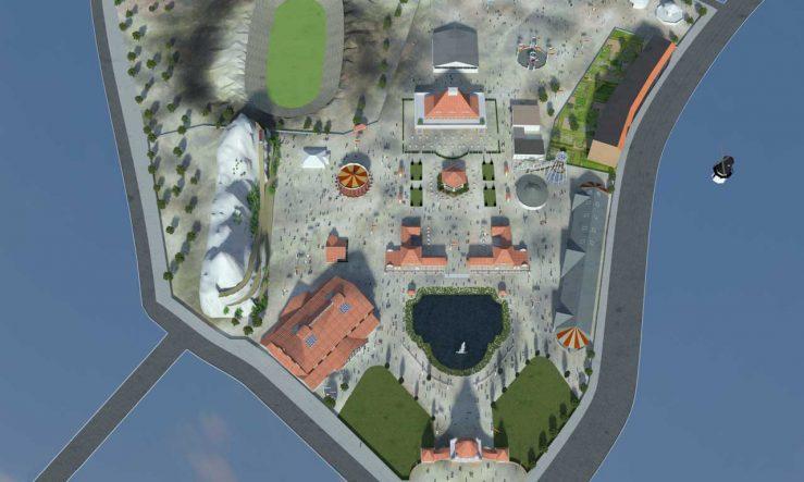 Luna Park von oben