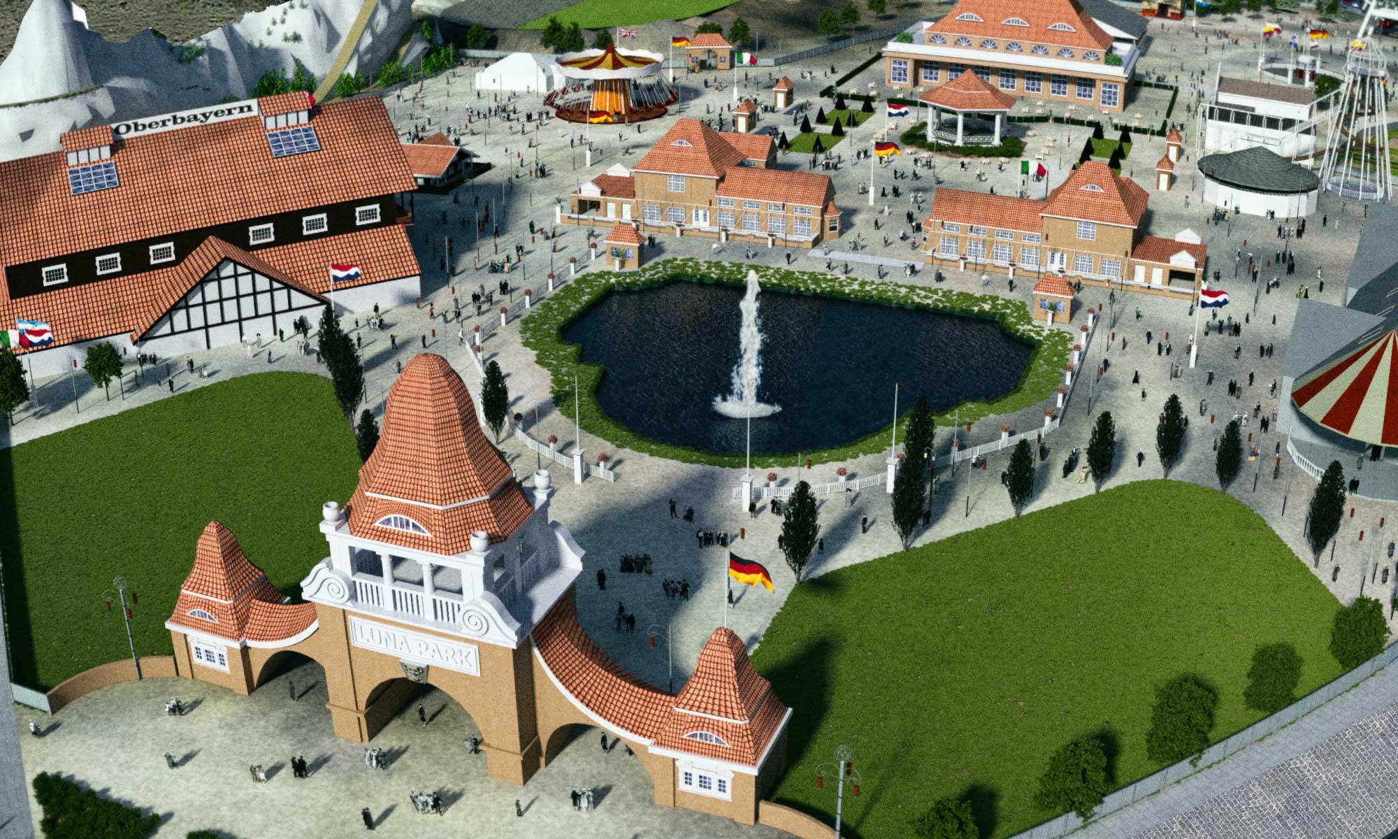 Luna Park Altona Überblick